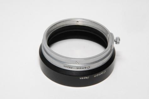 Canon L-50mmF1,4用 フード・委託品