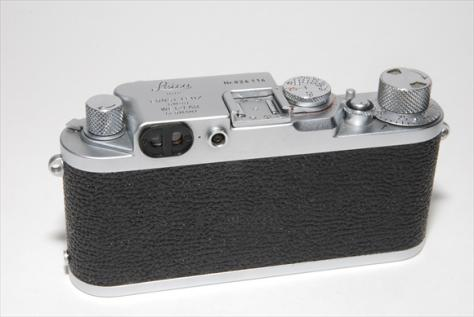 Leica 3F 赤エルマー50mmF3,5 フード付 ・ 委託品