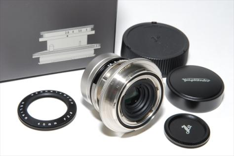 Voigtlander HELIAR 40mmF2,8 For VM-E Close Focus Adapter 新品