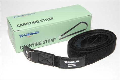 Voigtlander Carrying Strap 黒 ・ 新品