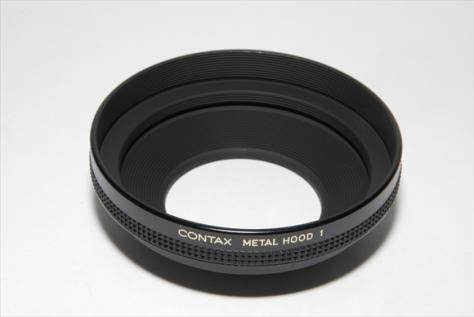 CONTAX メタルフードNo.1+55/86リングSet