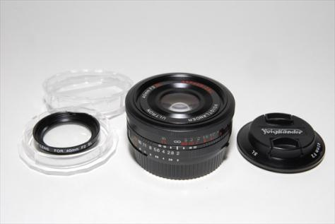 ULTRON 40mmF2 Aspherical SL-II ニコン用 ・ 委託品