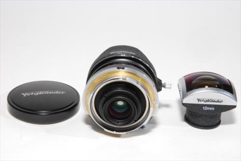 Voigtlander ULTRA WIDE-HELIAR L-12mmF5,6 Aspherical 黒 委託品