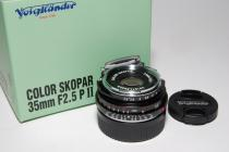 COLOR SKOPAR VM-35mmF2,5P II ・新品