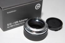 C-VM Adapter (for VM-E Close Focus Adapter) 新品