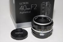 ULTRON 40mmF2 Aspherical SLIIs シルバーリム 新品