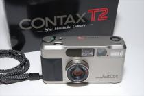 Carl Zeiss CONTAX T2 ゾナー38mmF2,8付 委託品