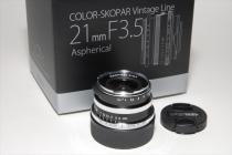 COLOR-SKOPAR Vintage Line 21mmF3,5 Aspherical VM