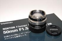 NOKTON V/L 50mmF1,5 Aspherical II VM mc 新品