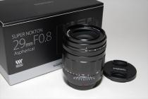 SUPER NOKTON 29mmF0,8 Aspherical 新発売
