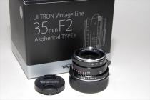 ULTRON V/L 35mmF2 Aspherical TYPE-II VM ブラックペイント新品
